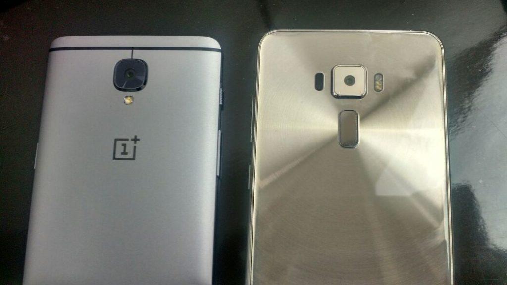 Asus ZenFone 3 vs OnePlus 3