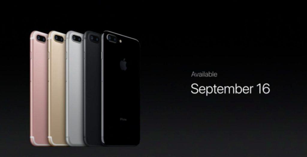 Apple iPhone 7, 7 Plus