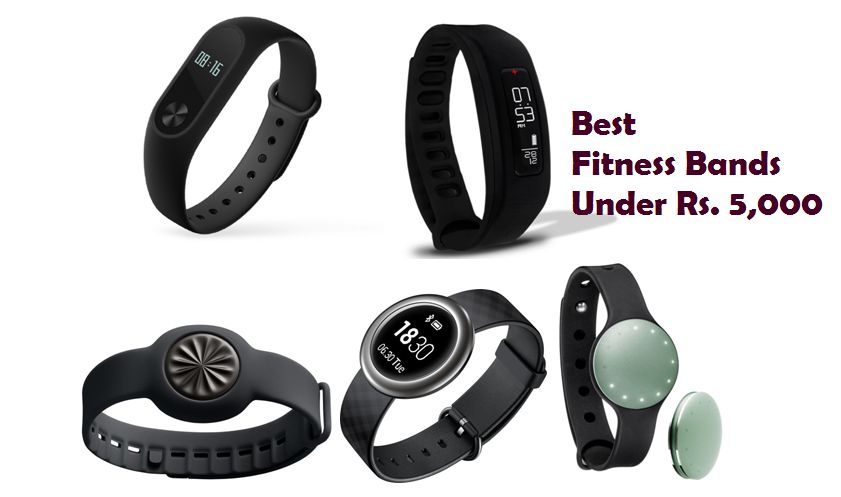 Best Fitness Bands Under Rs. 5,000