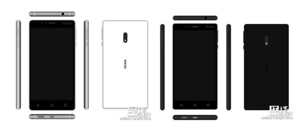 Nokia D1C Render (Standard Variant, White/ Black)