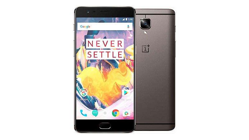 Best Android Nougat Smartphones in India - OnePlus 3T