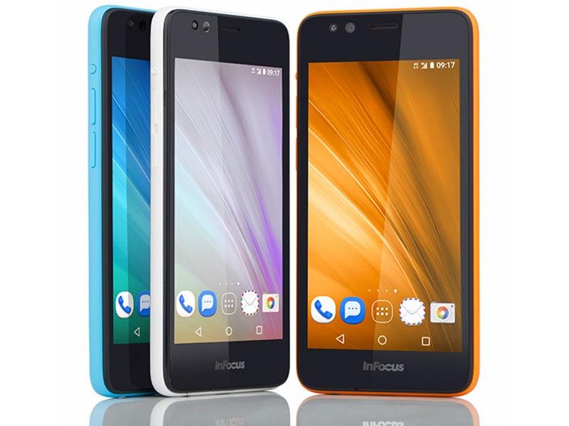 InFocus Aadhaar-Enabled Iris Smartphone