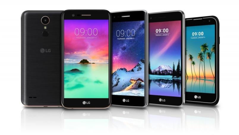 LG K3, K4, K8, K10 And Stylus 3