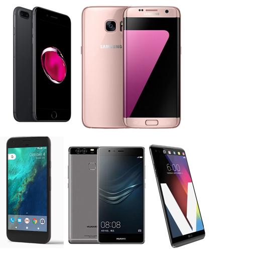 Top 5 Camera Smartphones of 2016