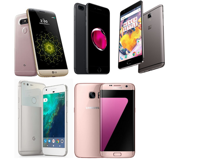 Top 5 Flagship Smartphones of 2016