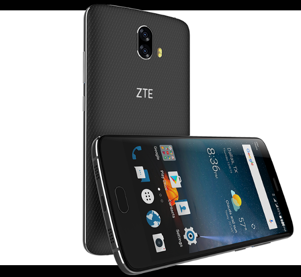 the moment zte blade pro v8 carries Gorilla