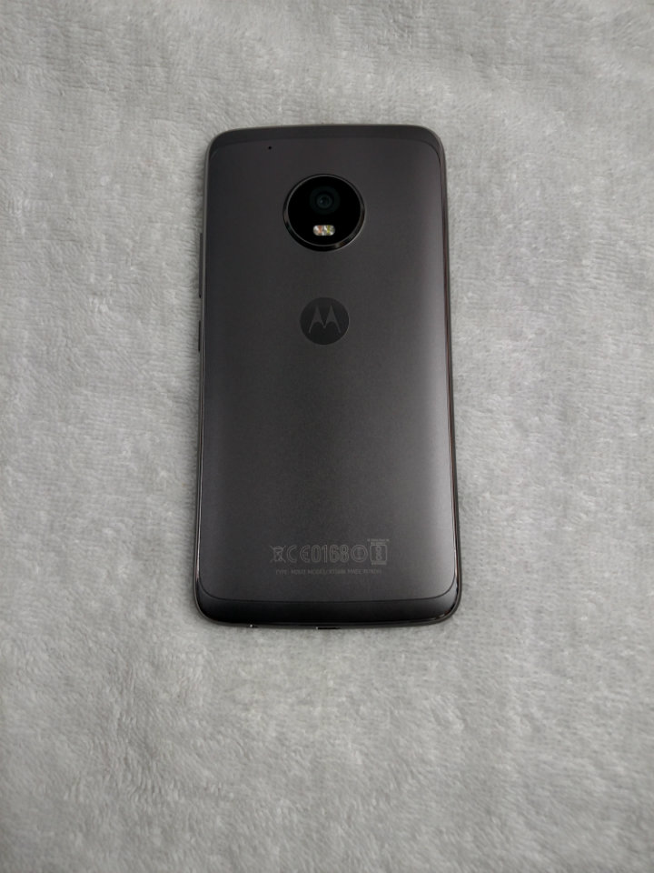 Motorola Moto G5 Plus Review - rear