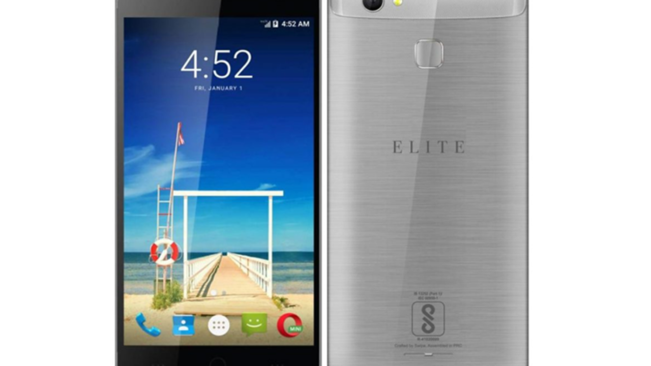 best loved edda1 b3cf0 Swipe Elite Sense With 5-inch HD Display, Fingerprint Sensor ...