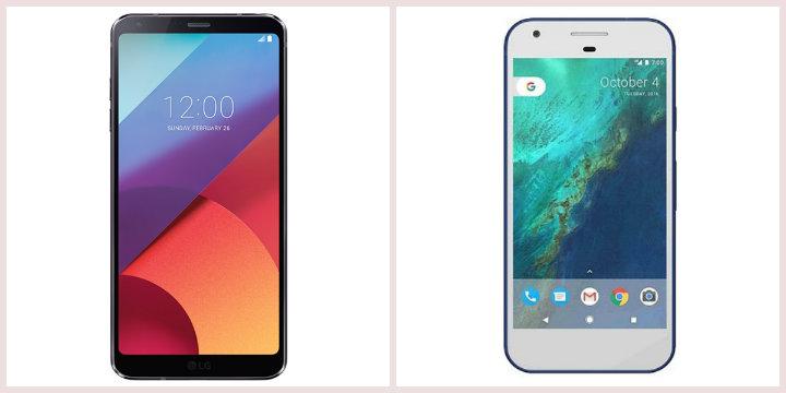 LG G6 vs Pixel XL