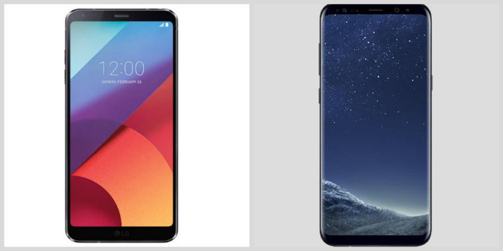LG G6 vs Samsung S8 Plus