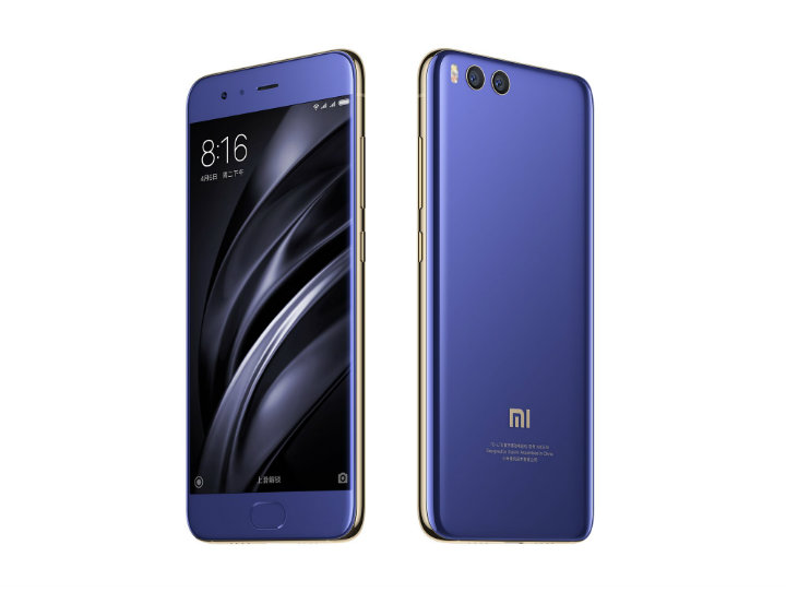Xiaomi Mi 6 India Launch - Blue Colour