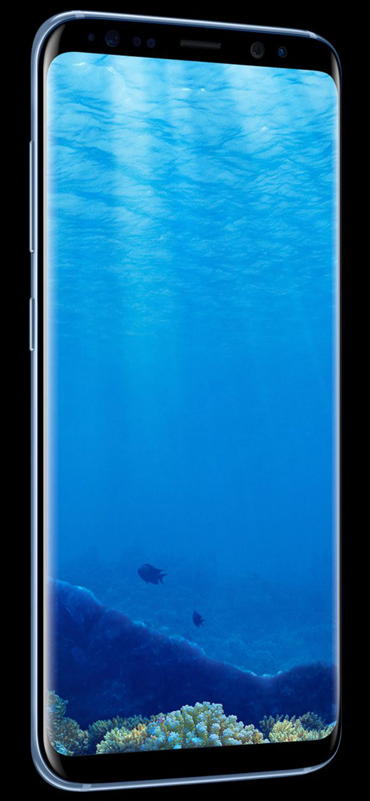 Samsung Galaxy S8 India Review - Coral Blue Colour