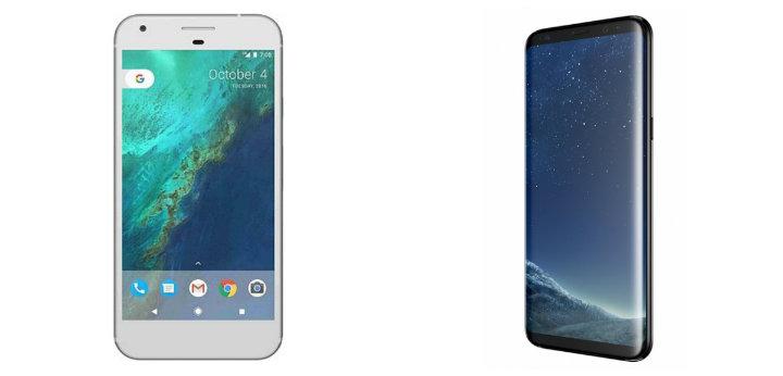 Samsung S8 Vs Google Pixel