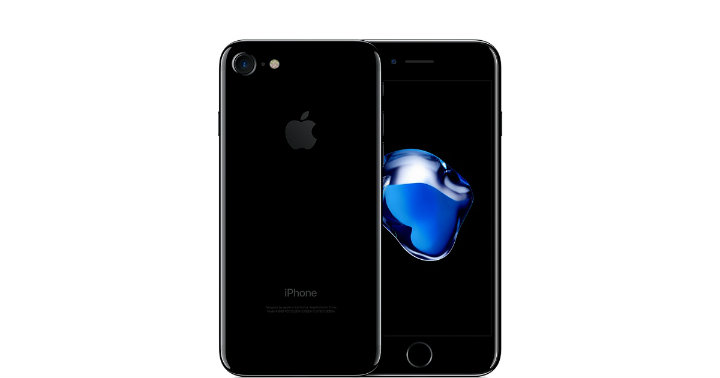 Samsung S8 vs iPhone 7 - iPhone 7 Jet Black colour