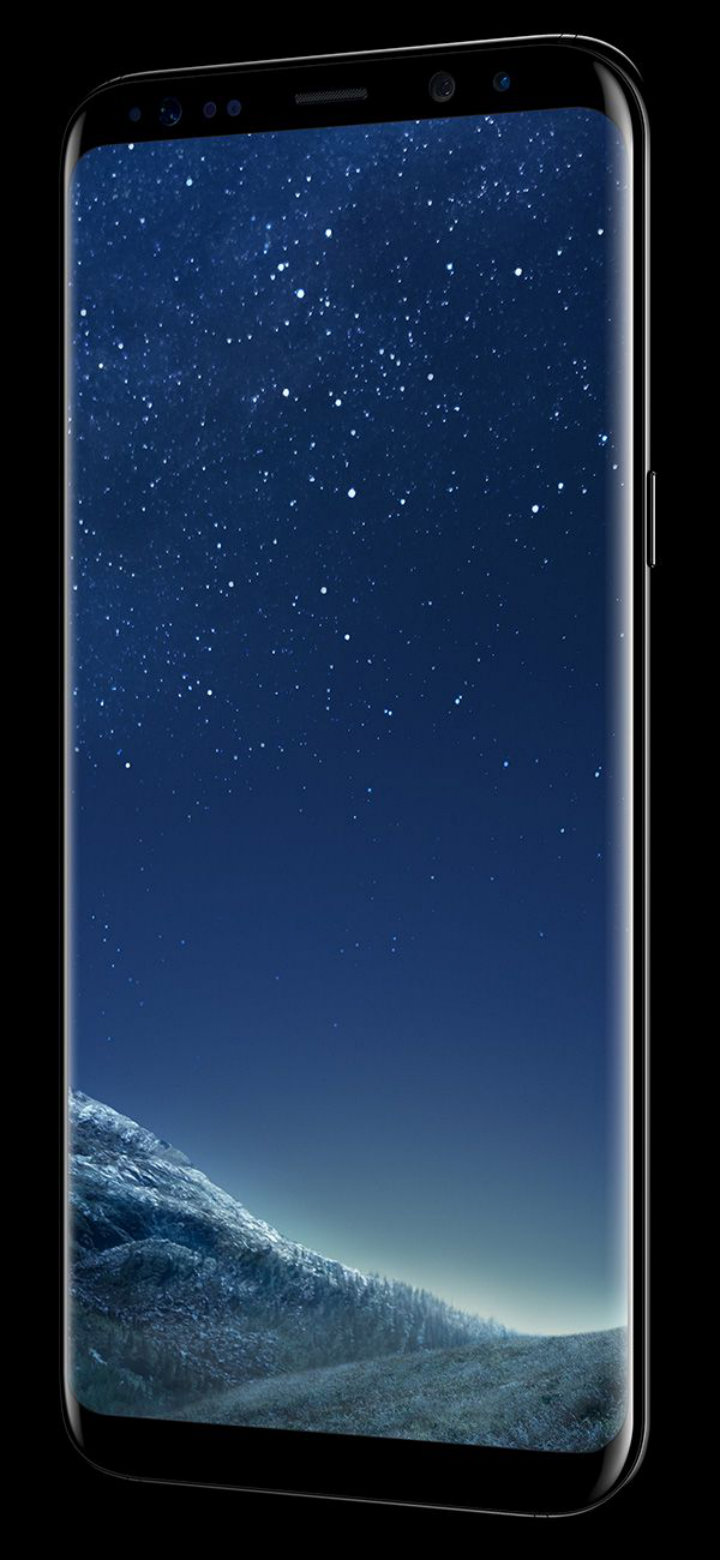 Samsung S8 vs iPhone 7 - Samsung S8 display