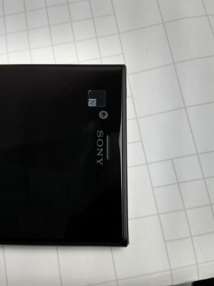 Xperia XZs Review - NFC