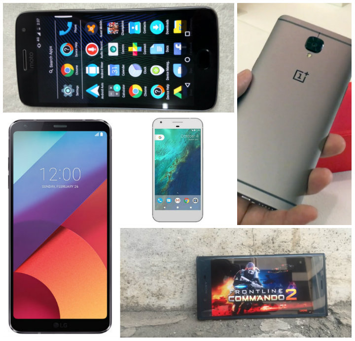 Best Android Nougat Smartphones In India