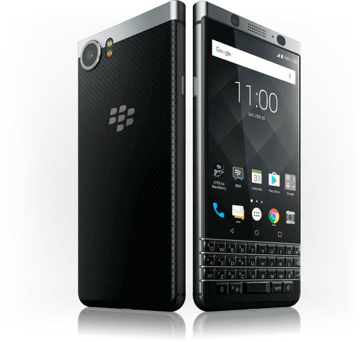 BlackBerry KEYone - Front and Rear