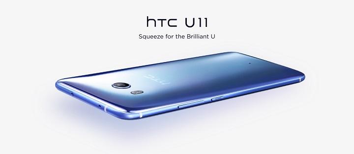 HTC U 11 - Back