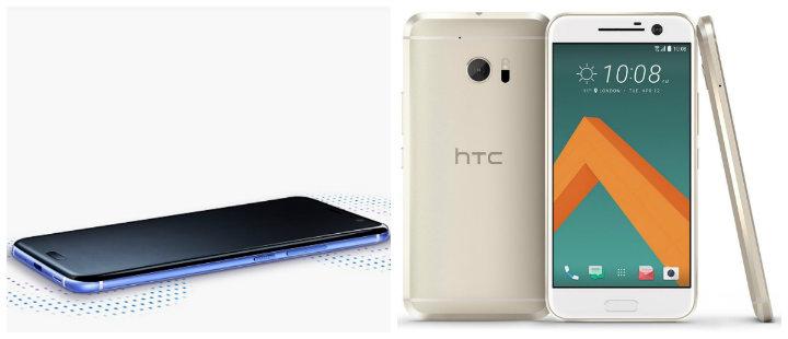 HTC U 11 vs HTC 10