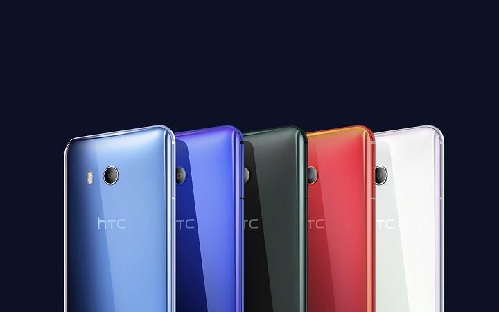 HTC U 11 - Five colour variants