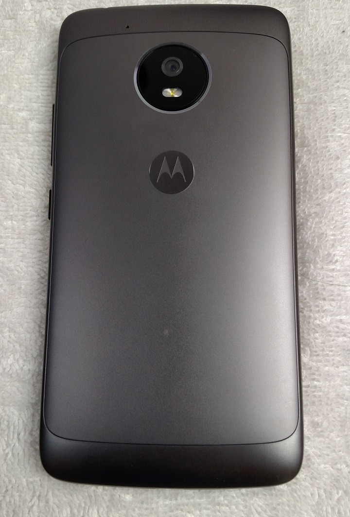 Motorola Moto G5 Review - Back