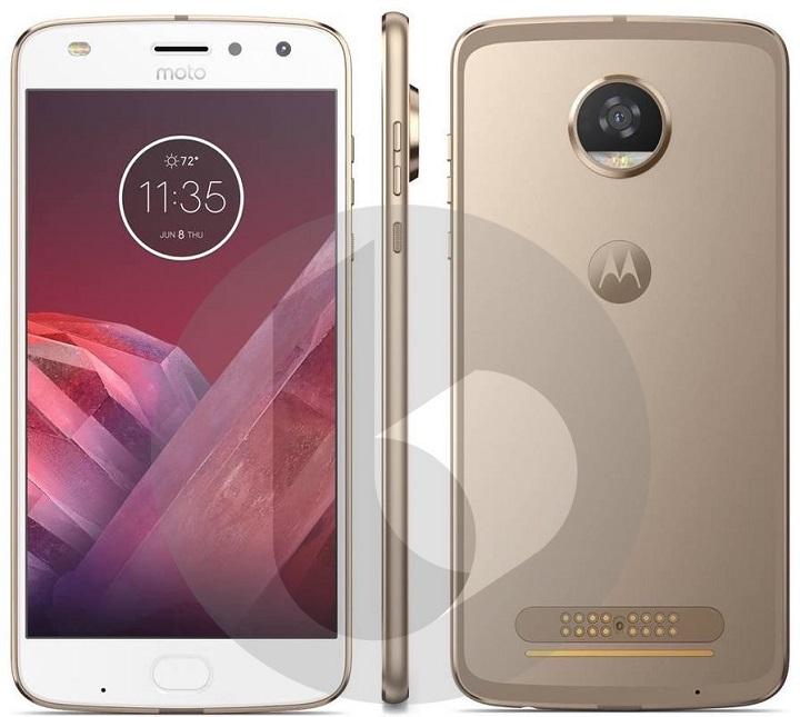 Samsung S8 vs Moto Z2 - Motorola Moto Z2