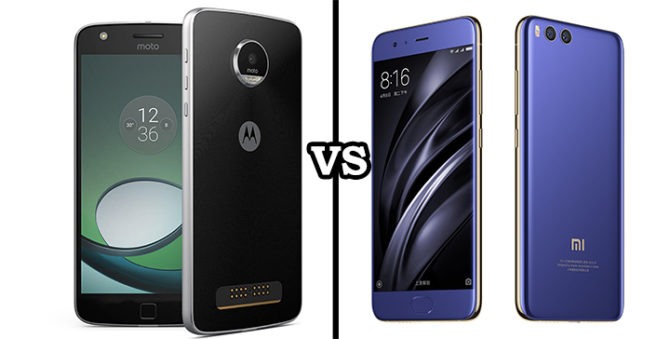 Moto Z2 Play vs Xiaomi Mi6