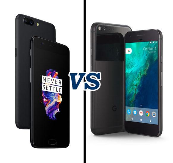 OnePlus 5 Vs Google Pixel XL Comparison