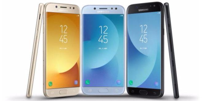 Samsung Galaxy J3, Galaxy J5, and Galaxy J7 (2017)
