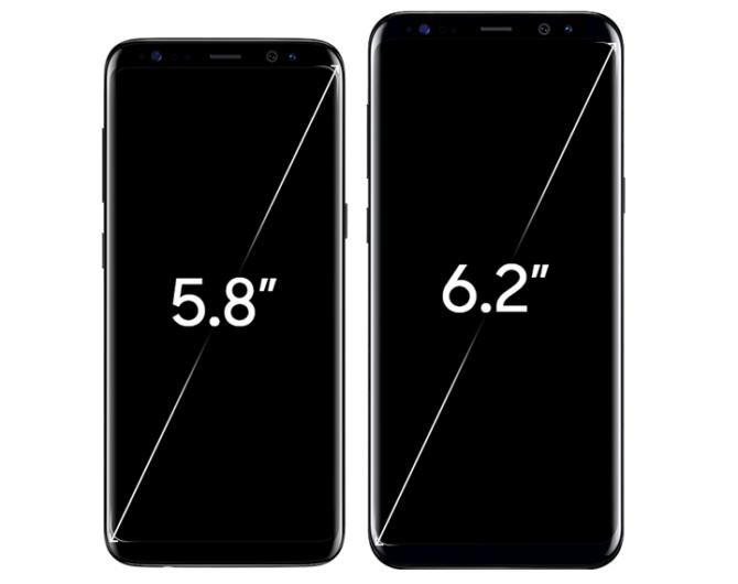 Samsung Galaxy S8 Vs Galaxy S8 Plus