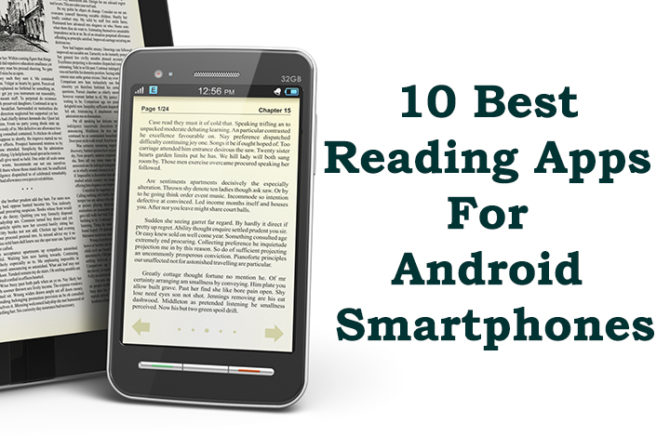 10 Best Reading Apps For Android Smartphones