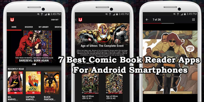 7 Best Comic Book Reader Apps For Android Smartphones