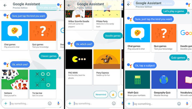 How To Play Google Assistant Games In Your Web Browser