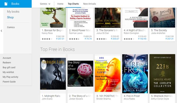 Как бесплатно читать электронные книги Google на смартфоне
