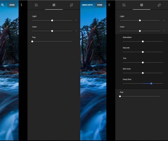 Как использовать функцию Deep Blue в Google Фото