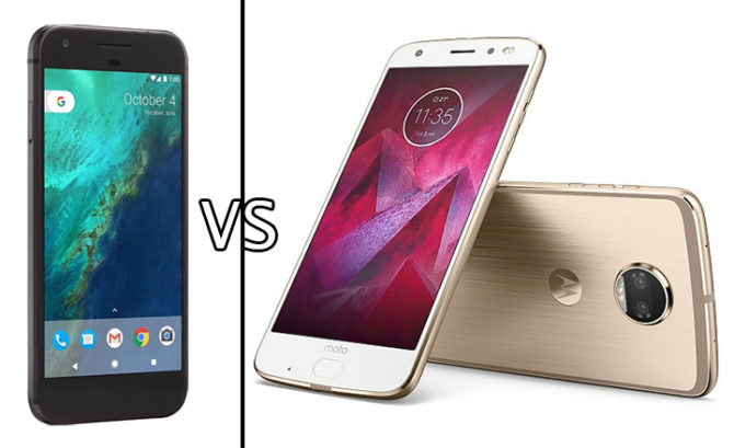 Moto Z2 Force Vs Google Pixel XL