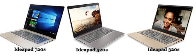 Lenovo Yoga and Ideapad