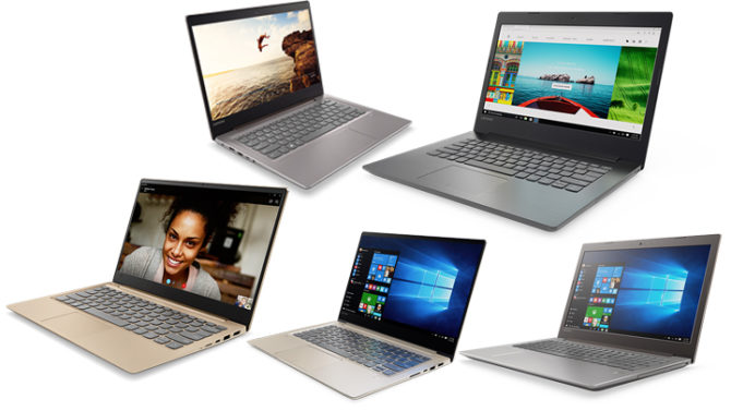 Lenovo Yoga and Ideapad