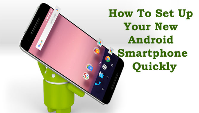 how to set up new android phone