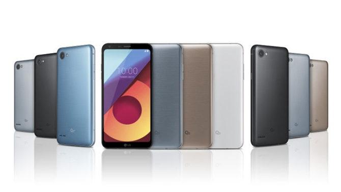 LG Q6, LG Q6+, LG Q6a