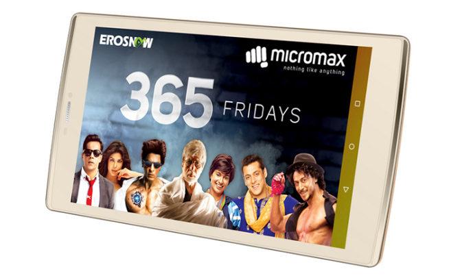 Micromax Canvas Plex Tab