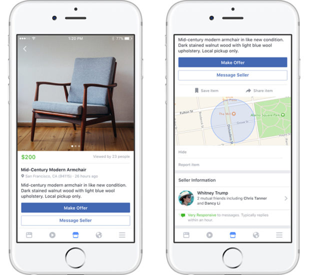 Facebook Marketplace Expands With Ebay Daily Deals