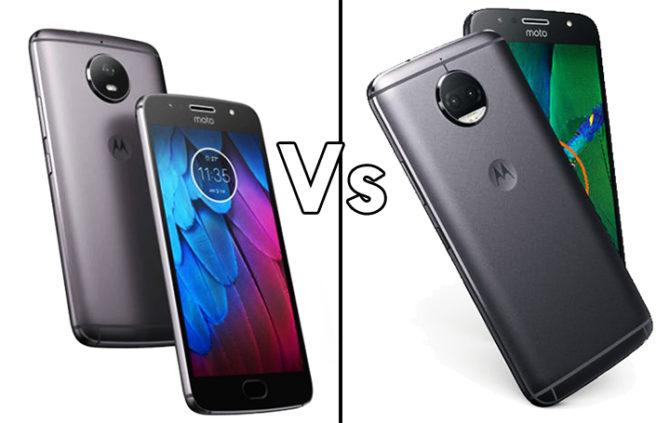 Moto G5S Vs Moto G5S Plus