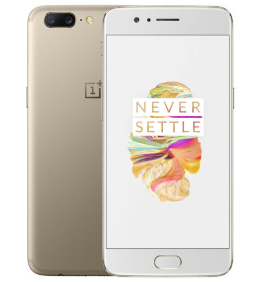 OnePlus 5 Soft Gold Variant