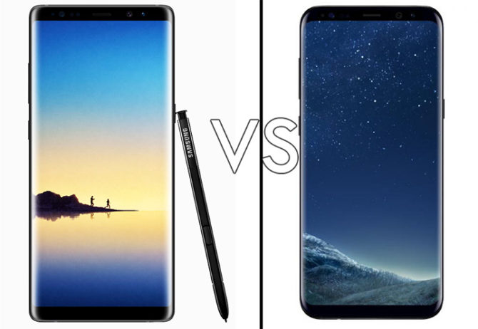 Samsung Galaxy S8 Vs Galaxy S8 Plus