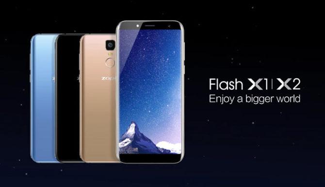 Zopo Flash X1, Flash X2