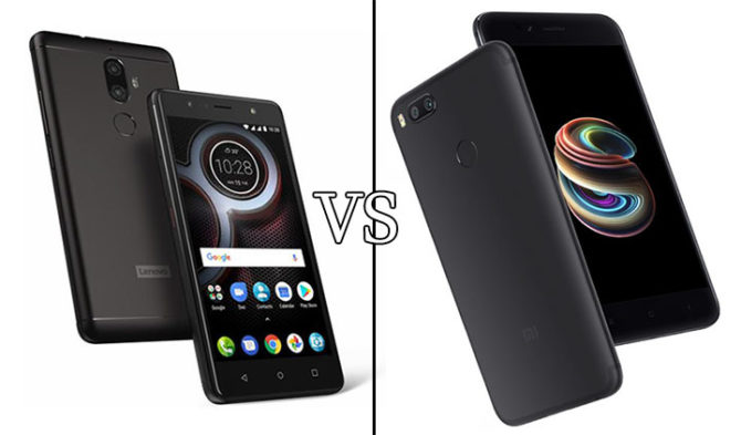 Lenovo K8 Plus Vs Xiaomi Mi A1