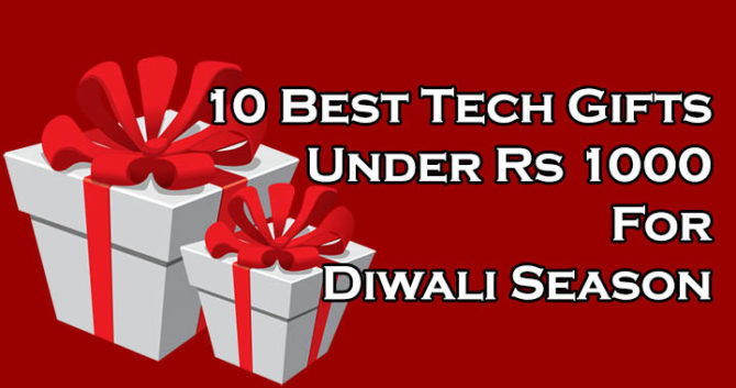 10 Best Tech Gifts Under Rs 1000 For Diwali Season