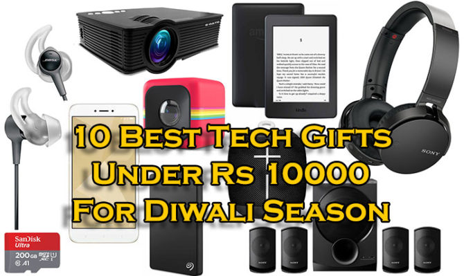 10 Best Tech Gifts Under Rs 10000 For Diwali Season